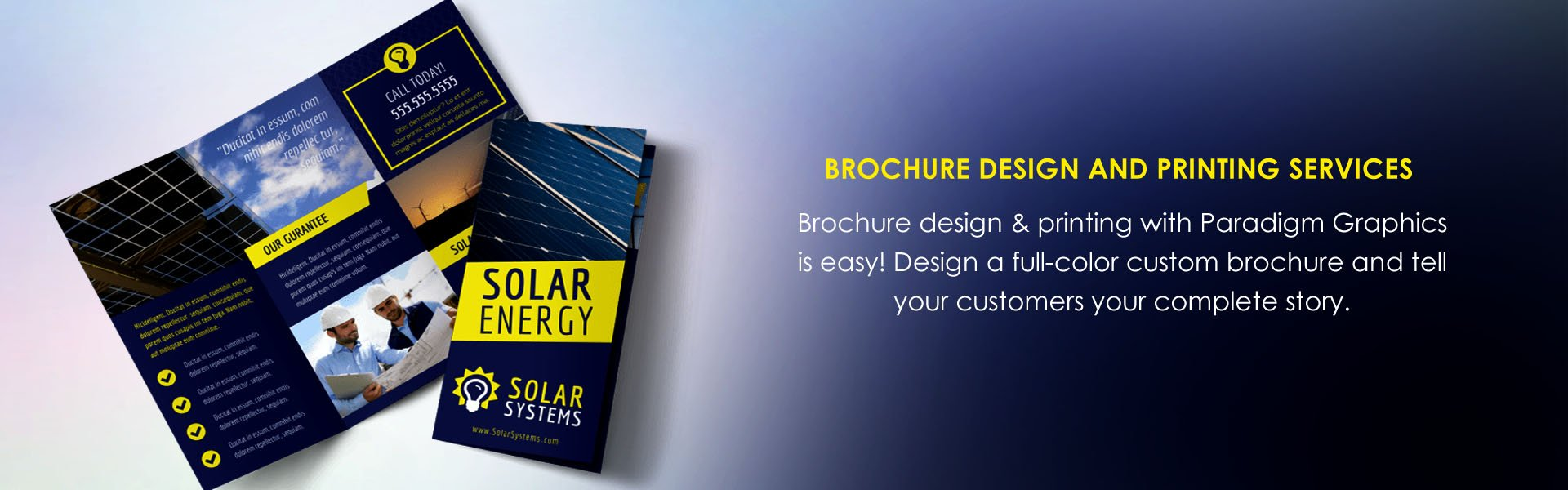 best Brochure design and printing services